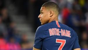 Homenaje a Notre-Dame en el dorsal de la camiseta del PSG. (FOTO: Eurosport).