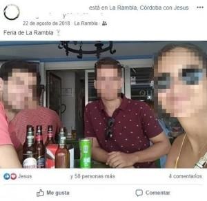 Jesús (izquierda), como muestra de usuario esporádico. (FUENTE: Facebook).