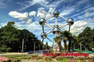 El Atomium, otro de los puntos de referencia de la capital belga. Merece la pena desplazarse a las afueras de la ciudad para contemplar esta estructura de la Expo de Bruselas de 1958. (FOTO: Emad Drwish).