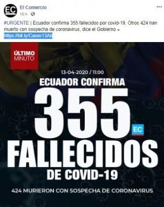 Fuente: Facebook - El Comercio