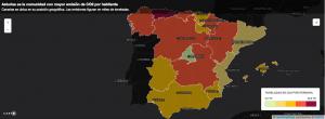 Mapa de contaminación mostrado en el artículo