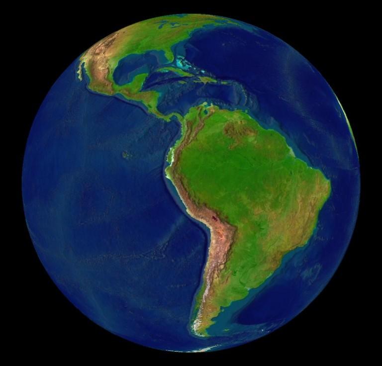 América Latina  Fuente: Wikipedia Commons