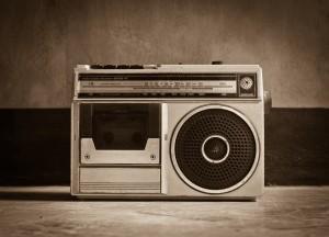 Old vintage Radio, classic style