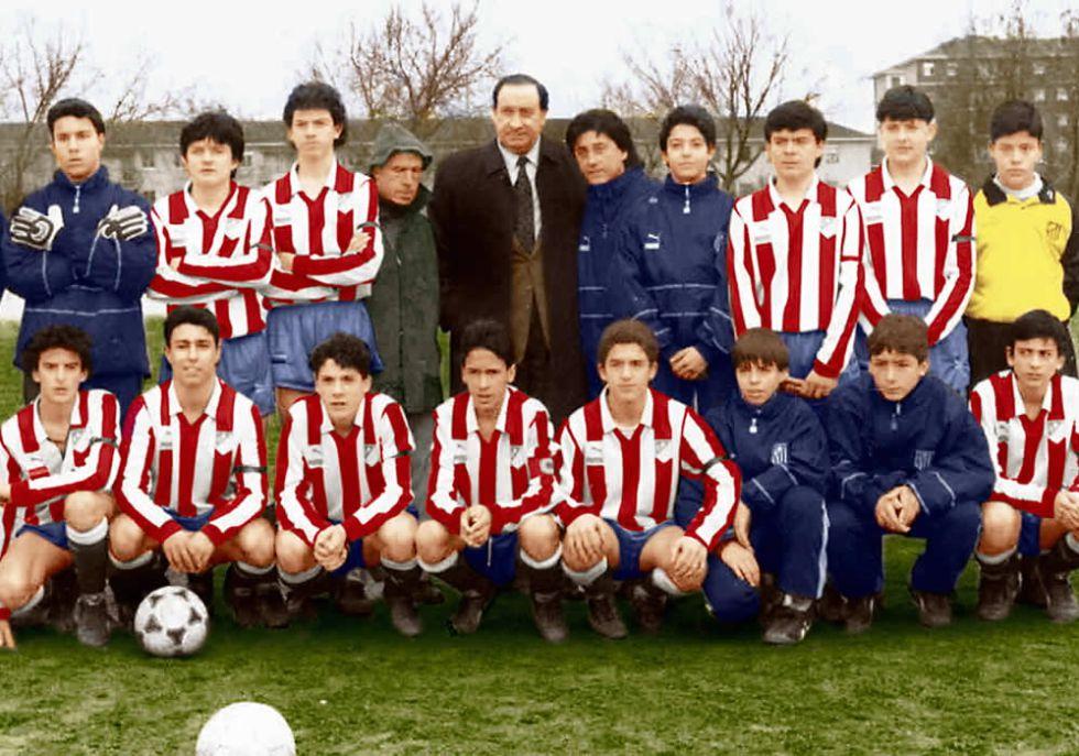 Raúl González, histórico jugador del Real Madrid salió de la cantera rojiblanca. Fuente: Diario As (1991)