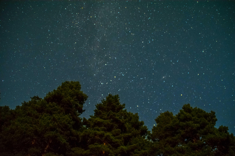 Cielo nocturno en Quintanar