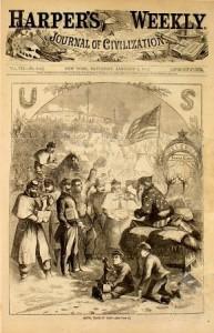 Portada realizada por Thomas Nast el 3 de enero de 1863