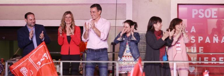 Victoria PSOE Elecciones Generales 2019