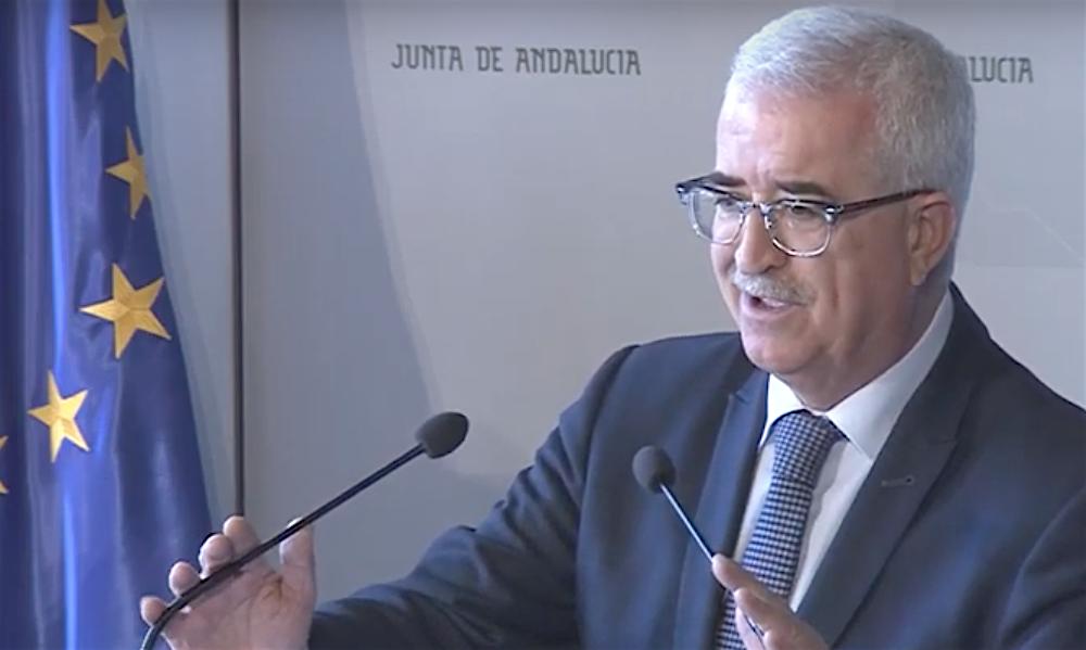 Manuel Jiménez Barrios. Fuente: Junta de Andalucía