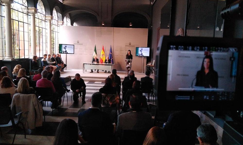 El acto. Fuente: Junta de Andalucía