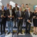 Los premiados. Fuente: Junta de Andalucía