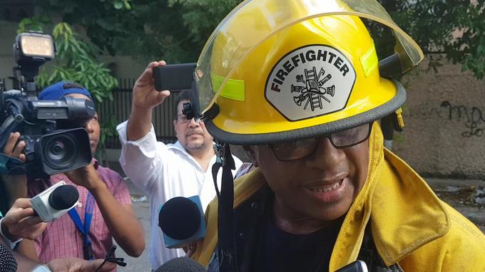Jefe de bomberos