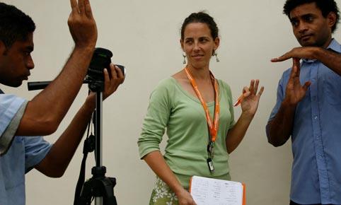 Periodistas con discapacidad en Australia