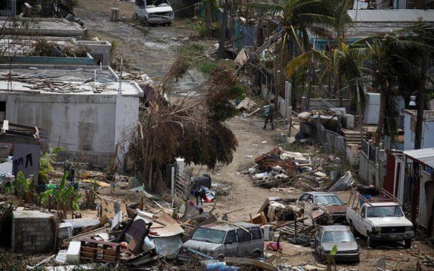 Puerto Rico devastado. FUENTE: El sol de Mazatlán