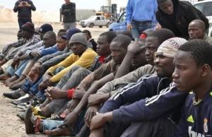 Los africanos huyen hasta la frontera entre México y Estados Unidos. FUENTE: El Periódico.