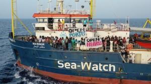 El Sea Watch 3 se convirtió en la salvación de 53 refugiados africanos. FUENTE: The Conversation