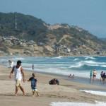 Las playas ecuatorianas ofrecen atardeceres y diversión. Fuente: El Comercio